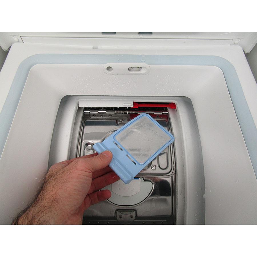 Vedette VLTS6134 - Retrait du filtre du sèche-linge