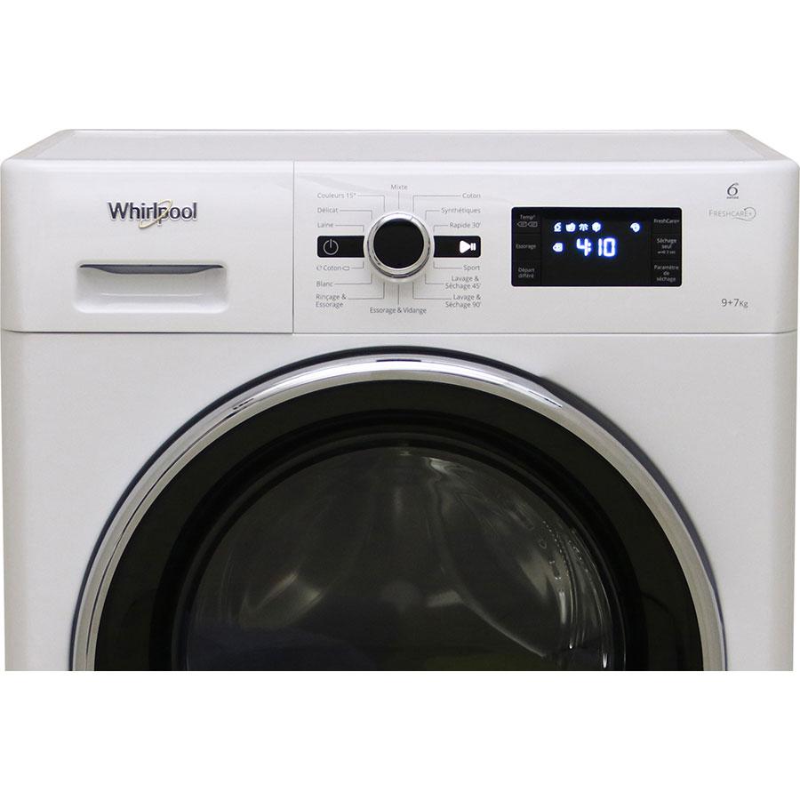 Whirlpool FWDG97168BXFR - Bandeau de commandes