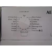 AEG L61261TL - Sélecteur de programme