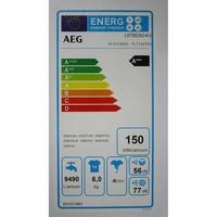 AEG L6TBD624G - Étiquette énergie