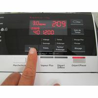 AEG L7TBD734E - Afficheur et touches d'options