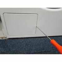 Asko W2086C.W - Outil nécessaire pour accéder au filtre de vidange