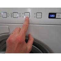 Asko W6564W - Afficheur et touches d'options
