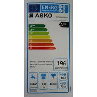 Asko W6564W - Étiquette énergie