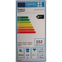 Beko DWTV6621XWOW - Étiquette énergie