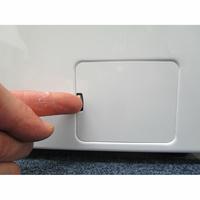 Beko WCA270 - Ouverture de la trappe du filtre de vidange