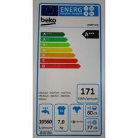 Beko WMB71436 - Étiquette énergie