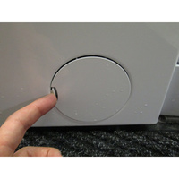 Beko WMY81430 - Ouverture de la trappe du filtre de vidange