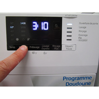 Beko WTV8712BS0W - Touches d'option