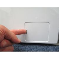 Beko WTV8712BS0W - Ouverture de la trappe du filtre de vidange