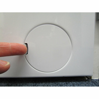 Beko WTV8744XWDOS - Ouverture de la trappe du filtre de vidange