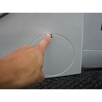 Bosch WAK28260FF Série 4 (*15*) - Ouverture de la trappe du filtre de vidange