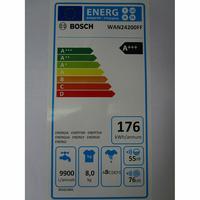 Bosch WAN24200FF - Étiquette énergie