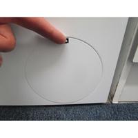 Bosch WAN28070FF - Ouverture de la trappe du filtre de vidange