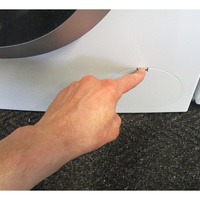 Bosch WAN28150FF Série 4 - Ouverture de la trappe du filtre de vidange