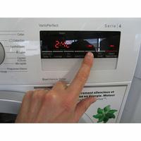 Bosch WAN28200FF Série 4 - Afficheur et touches d'options
