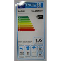 Bosch WAQ28483FF  - Étiquette énergie