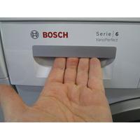 Bosch WAQ28483FF  - Ouverture du tiroir à détergents