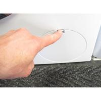 Bosch WAWH2660FF Home Connect Série 8(*34*) - Ouverture de la trappe du filtre de vidange