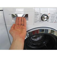 Bosch WAWH2660FF Home Connect Série 8(*34*) - Ouverture du tiroir à détergents
