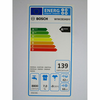 Bosch WIW28340FF - Étiquette énergie