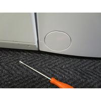 Bosch WOR24156FF - Outil nécessaire pour accéder au filtre de vidange