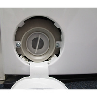 Bosch WOT24257FF - Bouchon du filtre de vidange
