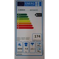 Bosch WOT24257FF - Étiquette énergie