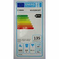 Bosch WUQ28418FF - Étiquette énergie