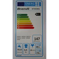 Brandt BT653MQ - Étiquette énergie