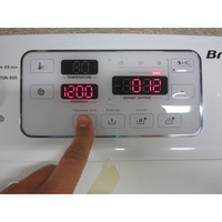 Brandt BWT2812T Silence 8Kg - Touches d'option