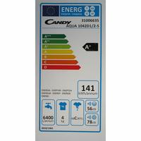 Candy AQUA1042D1 - Étiquette énergie