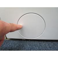 Candy BWM128PH7/1-S - Ouverture de la trappe du filtre de vidange