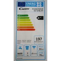 Candy CLT273L - Étiquette énergie