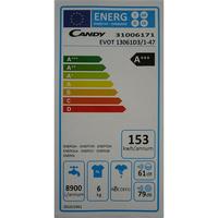 Candy EVOT13061D3 - Étiquette énergie