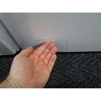 Candy GS1282D3/1-S - Ouverture de la trappe du filtre de vidange