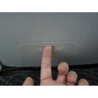 Candy GV1410D2 /1-47 - Ouverture de la trappe du filtre de vidange
