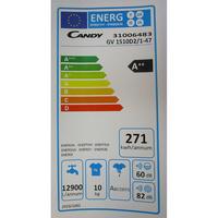 Candy GV1510D2/1 - Étiquette énergie