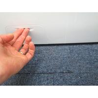 Candy GVF1412LWHC3-47 - Ouverture de la trappe du filtre de vidange
