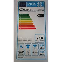 Candy GVS129DWC3 Grand'Ovita - Étiquette énergie