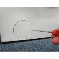 Candy RO14104DXH51-S - Outil nécessaire pour accéder au filtre de vidange