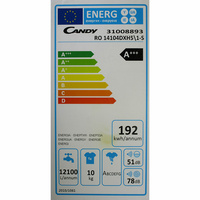 Candy RO14104DXH51-S - Étiquette énergie