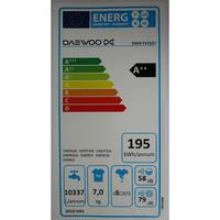 Daewoo DWD-FV2227 - Étiquette énergie