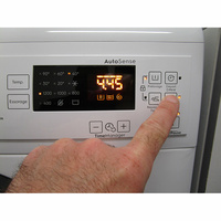 Electrolux EW2F1284GF - Touches d'option