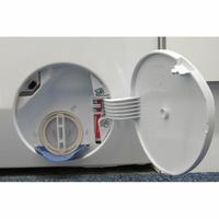 Electrolux EW7F3921RL - Bouchon du filtre de vidange
