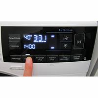 Electrolux EW7F3921RL - Afficheur et touches d'options