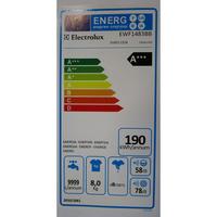 Electrolux EWF1483BB - Étiquette énergie