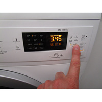 Electrolux EWF1484SSW - Touches d'option