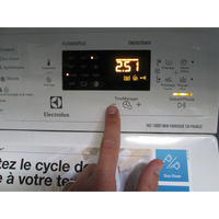 Electrolux EWT1274AOW (*16*) - Touches d'option
