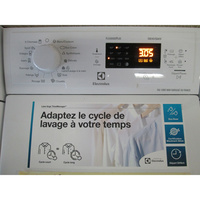 Electrolux EWT1274AOW (*16*) - Afficheur et touches d'options